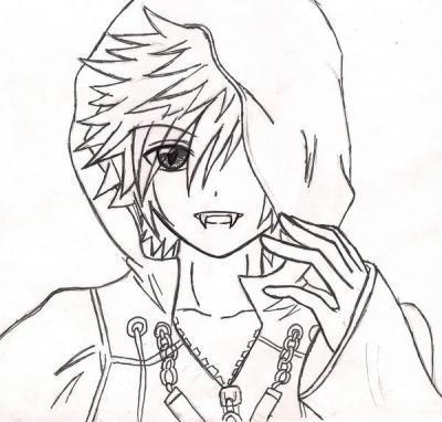 Vampire Anime Boy By Bannah23lynn On Deviantart