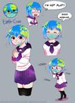 [Solar Sys-Gals] Earth-Chan by Milk-Addicc