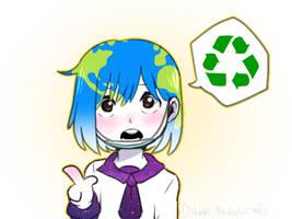 Keep Recycling by Milk-Addicc