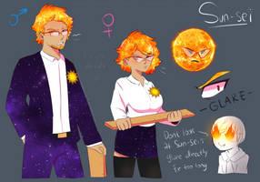 [Solar Sys-Gals] Sun-Sei by Milk-Addicc