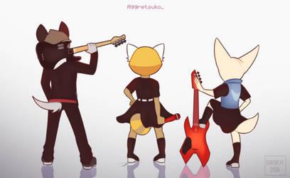 Rock n' Roll by Milk-Addicc