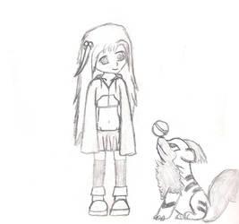 Lilim and Scion by hippychibi