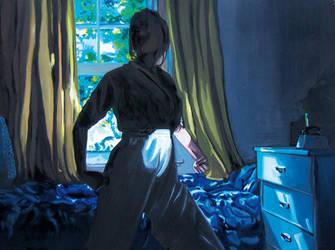 she in the blu light by mabi03