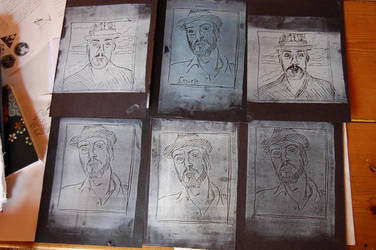 portraits in print by mabi03