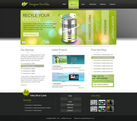 Designer portfolio by preet618