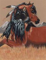 Totem Spirits by LunarSymphony
