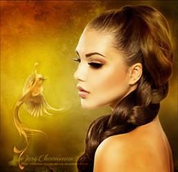 The golden bird by titefee-muse-de-ca