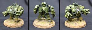 Warhammer 40k Dreadnought by shadowvfx