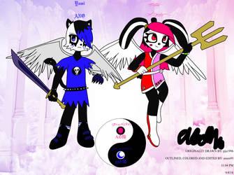 Yami to Hikari V7 (Bleedman Style) by amen95