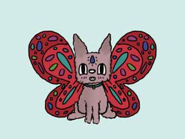 Kitty Butterfly by IzzyBear21