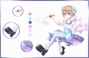 Adoptable: Starlight Painter [OPEN] by apieceofTofu