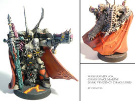 Dark Vengance Chaos Lord by chaotea