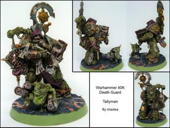 Death Guard Tallyman by chaotea