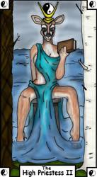 The High Priestess II by WinterHallow