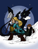 HTTYD - Protectors by secondlina