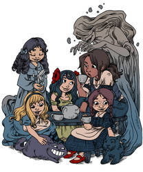 Tea party by secondlina