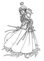 Namesake - Monster knight by secondlina
