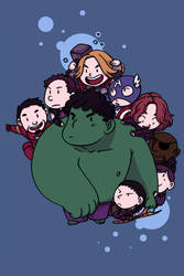 The adorable avengers by secondlina