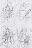 Queens of Wonderland WIP by secondlina