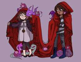 Son of a witch - Cloak by secondlina