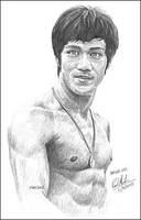Bruce Lee by Art15