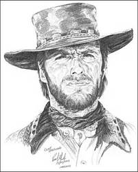 Clint Eastwood by Art15