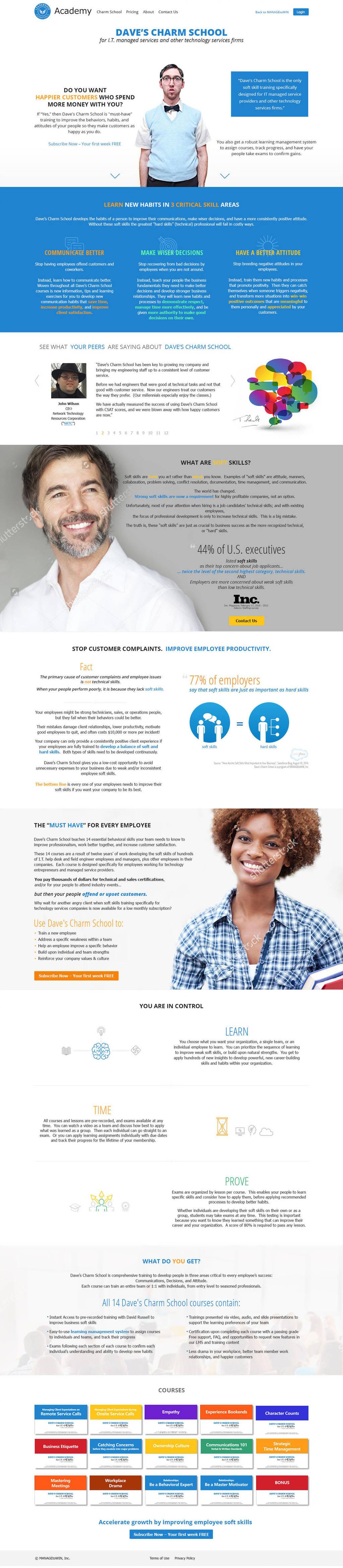 Websites | Leadership Essentials Academy v2 by AlbireoMKG