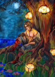 IX The Hermit by zaradei
