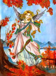 Angel by zaradei