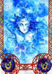 duende de agua-water sprite by zaradei