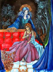 La Reina- The Queen by zaradei