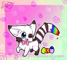 mysterygift kitty by cuppykake