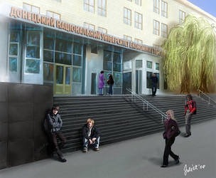 ucrainia commercial university by CurlyJul