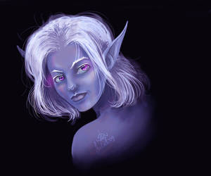 Young Drizzt by CurlyJul