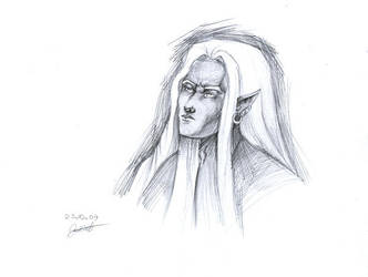 Drizzt_Do'Urden by CurlyJul