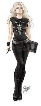 Black Metal Girl by CurlyJul