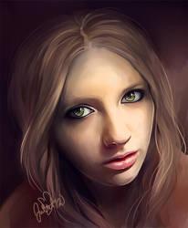 Daria's Portrait by CurlyJul