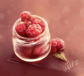 Raspberry by CurlyJul