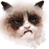 Tard - Grumpy Cat by CurlyJul
