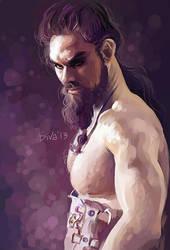 Khal Drogo by CurlyJul