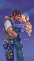 James Raynor and Nova Terra by CurlyJul