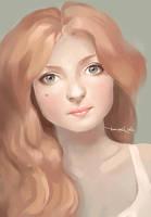 Peach by CurlyJul