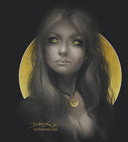 Black and Gold by CurlyJul