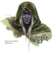 The Dark Elf by CurlyJul