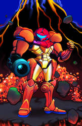 Super Metroid by MasonEasley