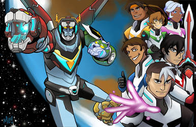 Voltron: Legendary Defender by MasonEasley