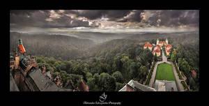 ...Ksiaz castle2... by canismaioris