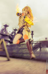 Yellow beauty burns... gold... by KaoruLily