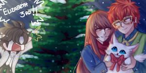 MC x Luciel christmas~ by Nyamuh