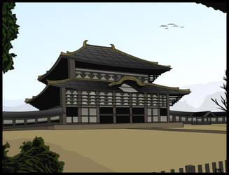 Vector Art - Buddhist Temple by rames